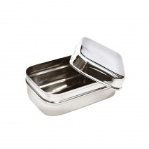 Boite 100% inox rectangle LUNCHPOD