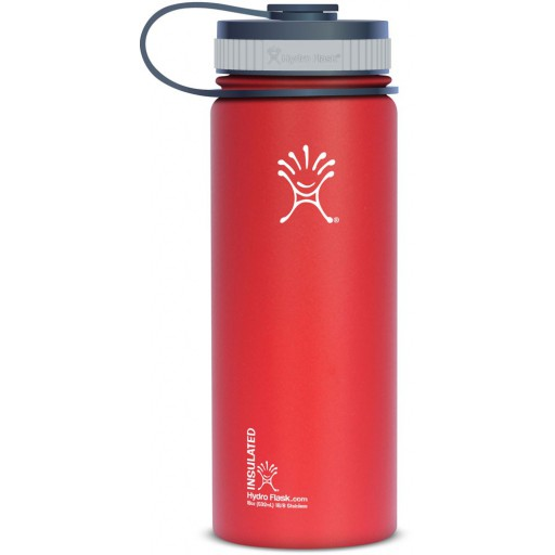 Gourde isotherme 530ml ROUGE