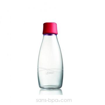 Gourde verre 500 ml - RASPBERRY