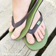 Tongs naturelles GREEN