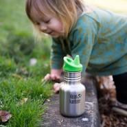 KID KANTEEN - Gourde anti-Fuite inox 355 ml - INOX - KLEAN KANTEEN
