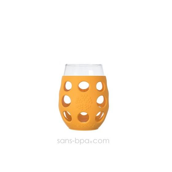 Verre gainé 325ml - Citron - Unit
