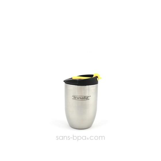 Gobelet inox isotherme 200 ml - Inox - DOPPIO Deluxe