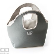 Sac isotherme réversible Gris / Vert Pop Up