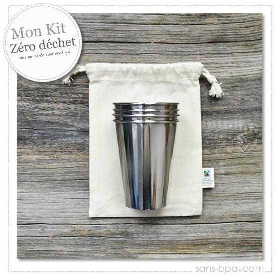 Kit Timbales Zéro plastique