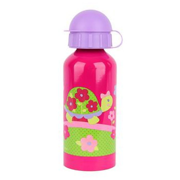 Gourde inox 400 ml - Tortue ROSE