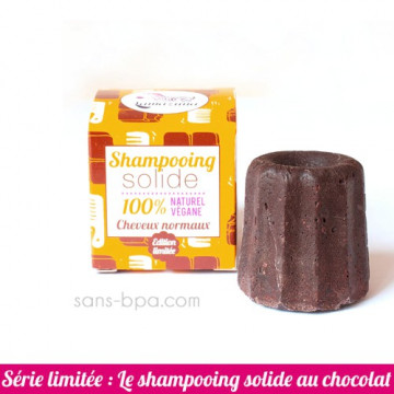 Shampoing solide Cheveux Normaux - Chocolat