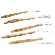Brosse à dents SUPER SOFT WAVE 100% biodégradable - Eco Bamboo