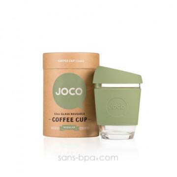Joco Cup tasse à emporter en verre - Black