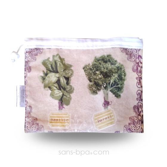 Sac à salades - Modèle Champêtre - GRAND