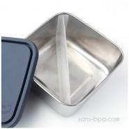 To-Go Large - Boite carrée - Cristal