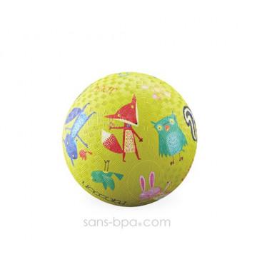 Balle caoutchouc 13 cm FORET