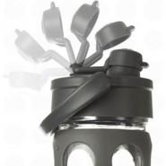 Bouteille FLIP FLOP en verre 650 ml - TURQUOISE - LIFEFACTORY