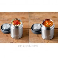 Boite repas isotherme 350 ml BLEU
