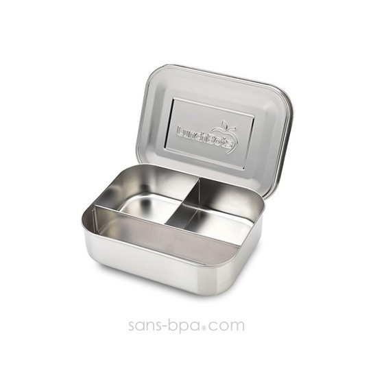 Boite 3 compartiments 100% inox TRIO