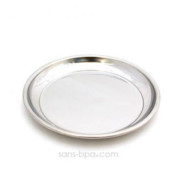 Assiette inox 26 cm PLATE