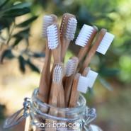Brosse à dents bambou - Poils souples - Jolie Ronde