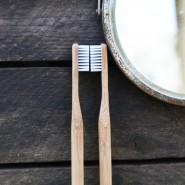 Brosse à dents bambou - Poils médium - Jolie Ronde