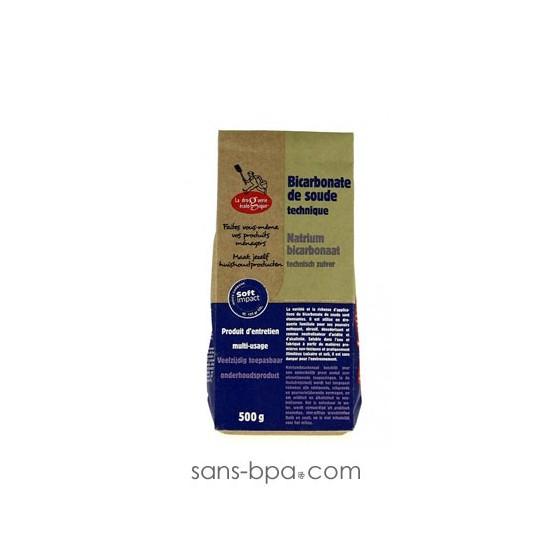 Bicarbonate de soude technique 500g sans - Bicarbonate de soude technique ...