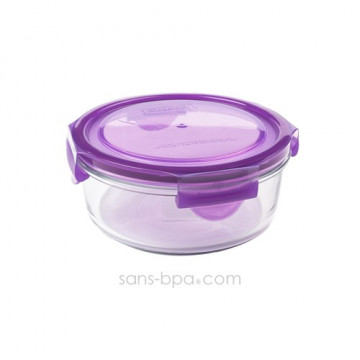 Contenant verre Meal Bowl 720ml - Framboise