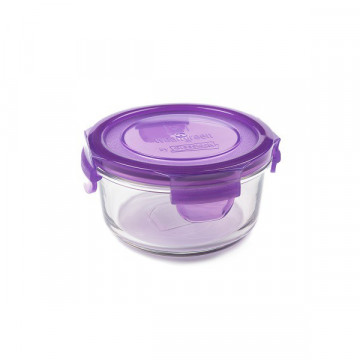 Contenant verre Lunch Bowl 400ml - Raisin