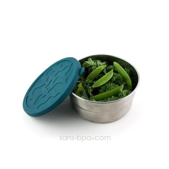 Boite inox & silicone - XL Green
