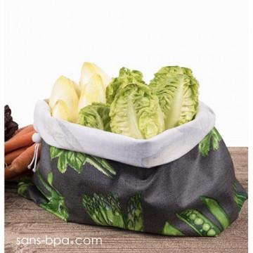 Sac à salades - Modèle - Etoile rouge GRAND
