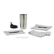 Pack Tasse isolée 470ml Inox + Bundles B&W