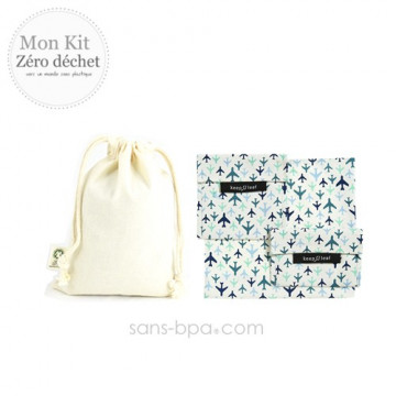 Pack Sac à goûter Bio garni - Bundles Bloom