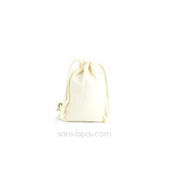 Petit sac coton Bio 15 x 20 cm Taille 2