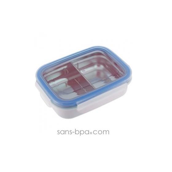 Boite inox compartiments 320ml - CREME