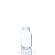Biberon verre 120 ml TURQUOISE