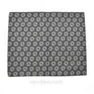 Mini serviette set coton Bio - Soleil gris