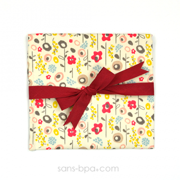 Pochette Cadeau BLOOM - ruban Rouge