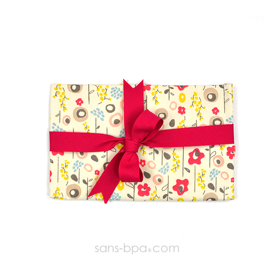 Pochette Mini Cadeau BLOOM - ruban Rouge
