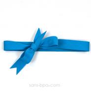 Ruban coton biais - Bleu