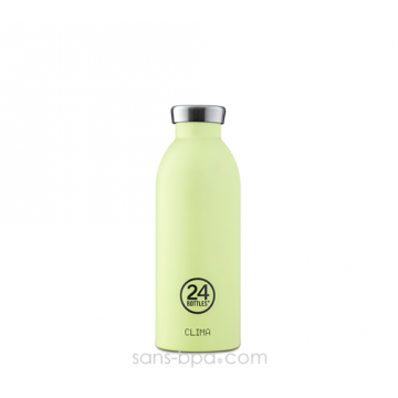 Bouteille inox isotherme 500ml CLIMA - Pistache