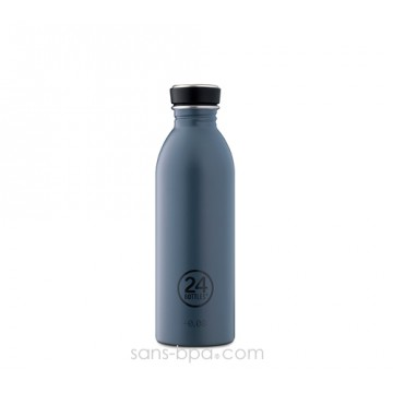 Gourde inox 500 ml Grey
