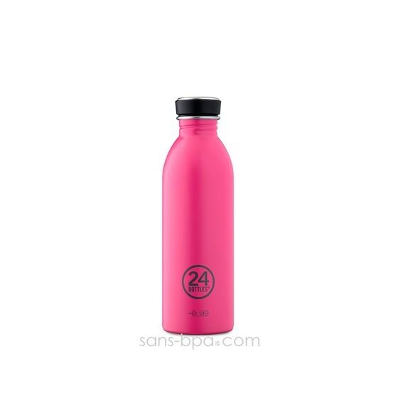 Gourde inox 500 ml Pink