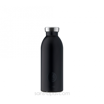 Bouteille inox isotherme 500ml CLIMA - TUXEDO Black