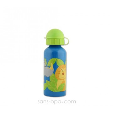Gourde inox 400 ml - Zoo Savane