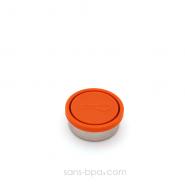 1 petite boîte FRAMBOISE en inox de KIDS KONSERVE