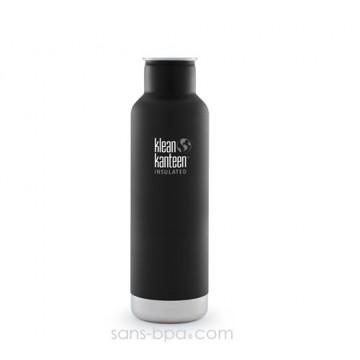 Gourde isotherme inox 590 ml - SHALE BLACK * COAST *