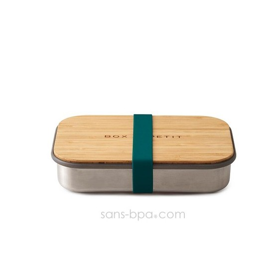 Sandwich Box - Bois & inox - Océan