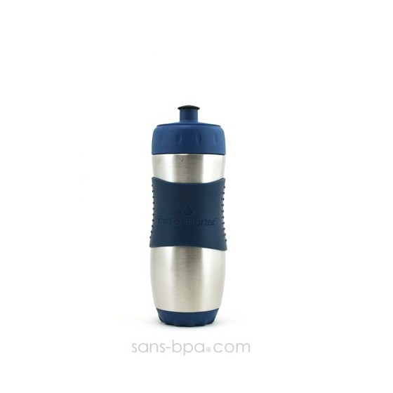 Gourde inox 473ml BLEU SafeSporter