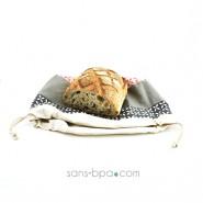Sac à pain - Modèle corbeille Arlequin