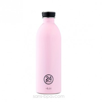 Gourde inox 1000 ml URBAN - CANDY PINK