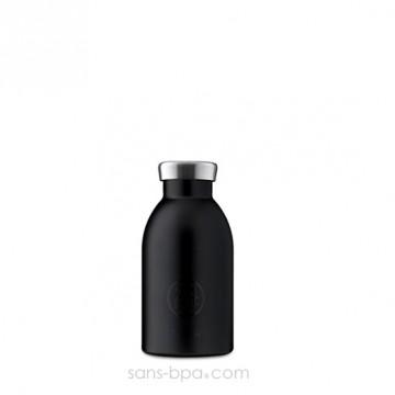 Bouteille inox isotherme 330ml CLIMA - TUXEDO BLACK