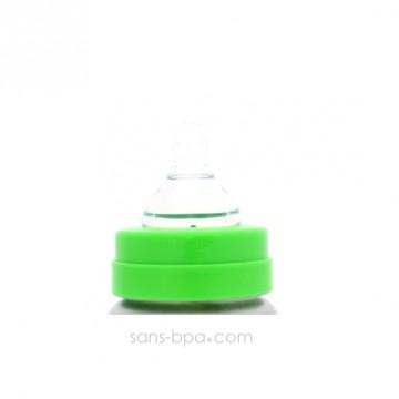 Bague biberon goulot large pour biberon isotherme 200ml Organic Kidz