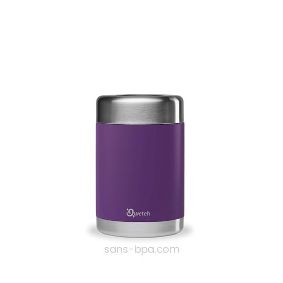 Boite repas isotherme 100% inox - Modèle 500 ml